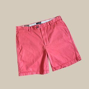 Orvis Angler Chino Shorts in Red
